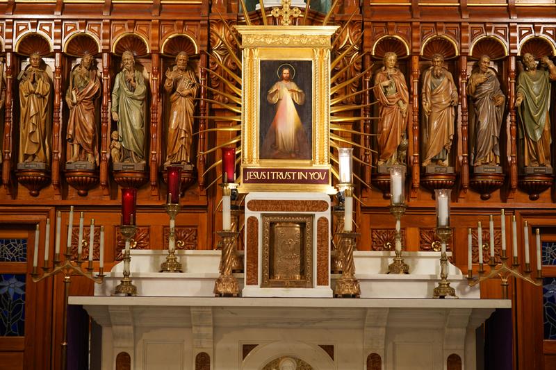 The Divine Mercy Shrine, Stockbridge, MA