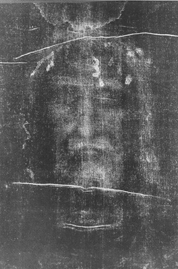 The Shroud of Turin - Face Negative