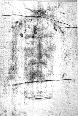 The Shroud of Turin - Face Positive