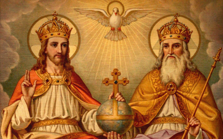 The Holy Trinity: God The Father, The Son and The Holy Spirit