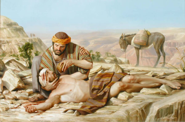 The Parable of the Good Samaritan-Luke 10:25-37